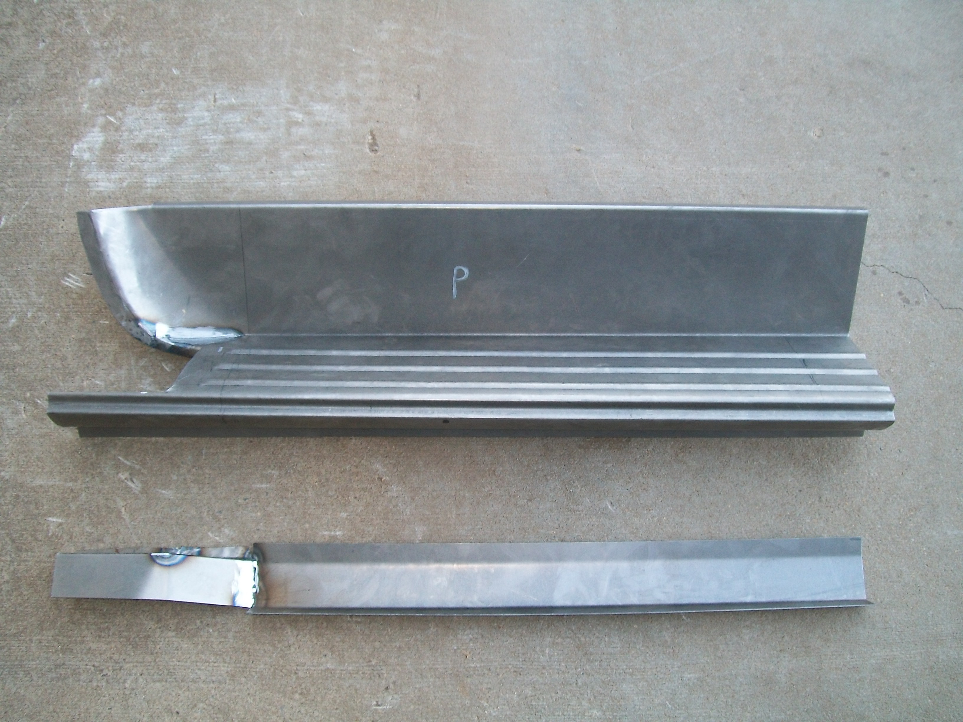 Dodge truck crew cab rocker panel assembly 61-71